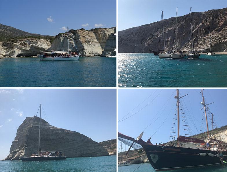 Outros barcos de passeio para Kleftiko