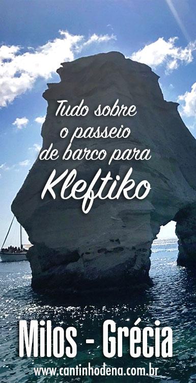 Passeio de barco para Kleftiko