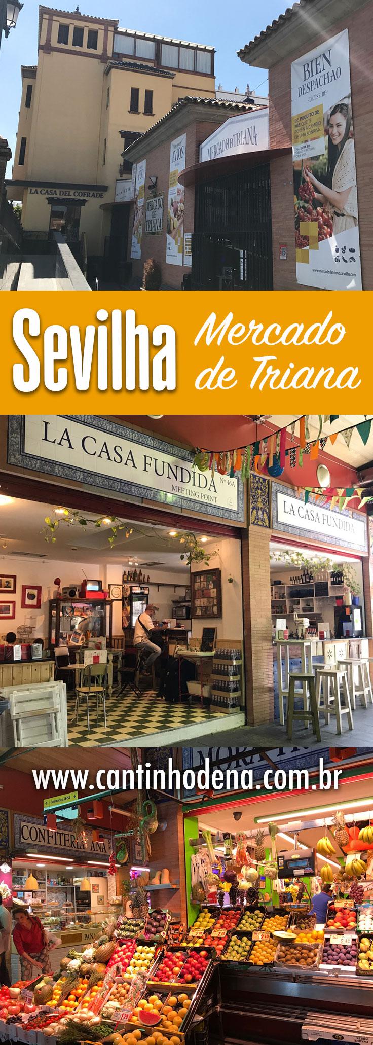 Mercado de Triana em Sevilha