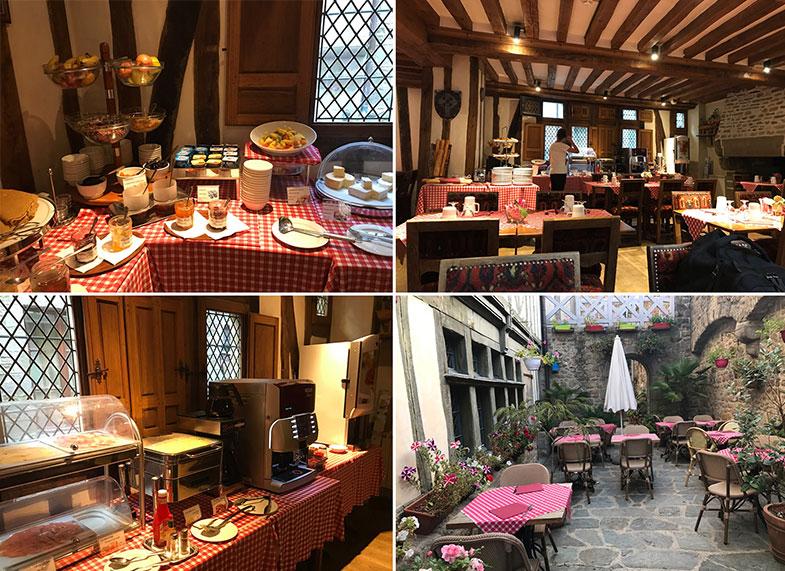 Onde tomar café da manhã no Mont Saint Michel