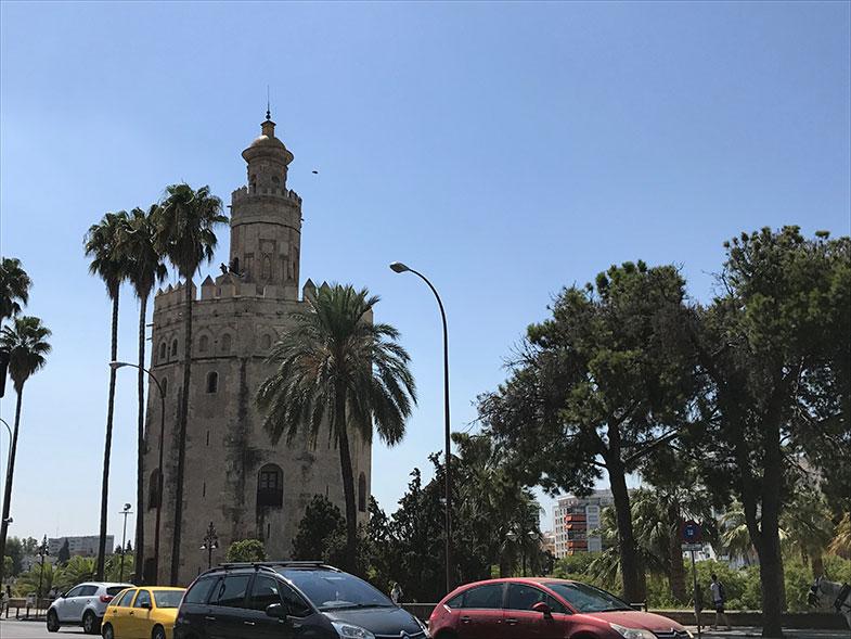 Torre del Oro Sevilha