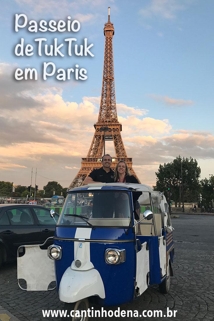 Tuktuk em Paris