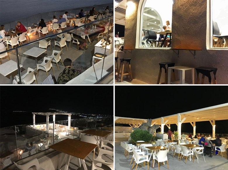 Vinícola em Santorini salões