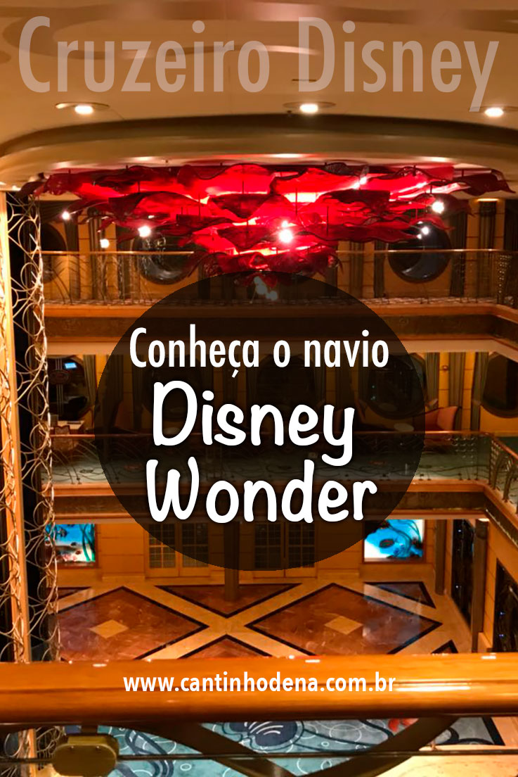 Como é o cruzeiro Disney Wonder de 7 noites