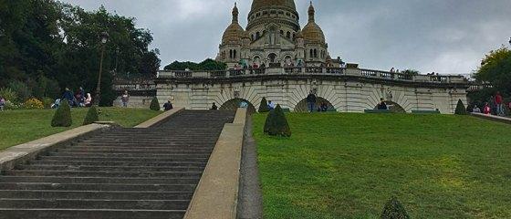Sacré Couer e Montmartre em Paris