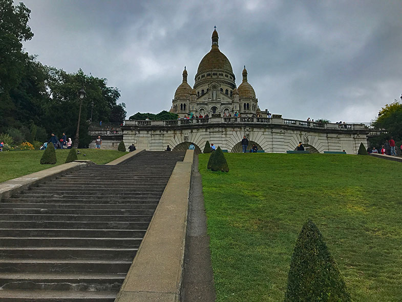 Sacré Couer e Montmartre, dois charmes de Paris
