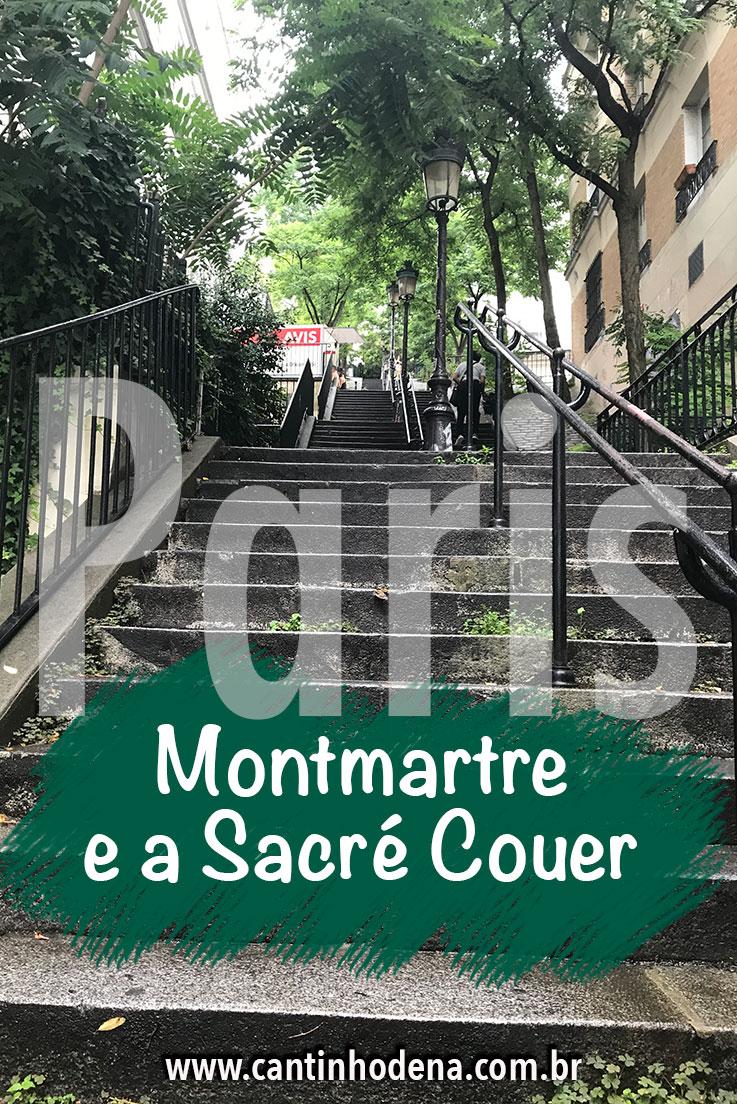 Sacré Couer e o Montmartre em Paris