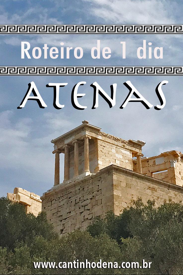 Roteiro de 1 dia em Atenas