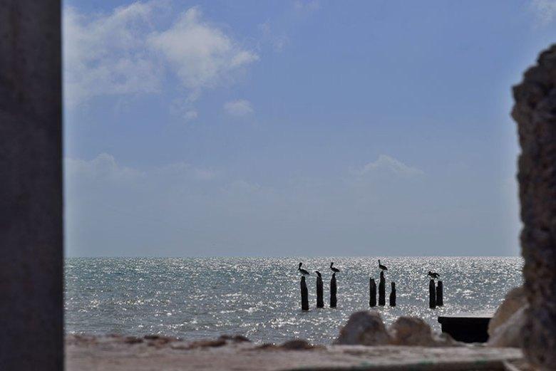 Praia em Key West