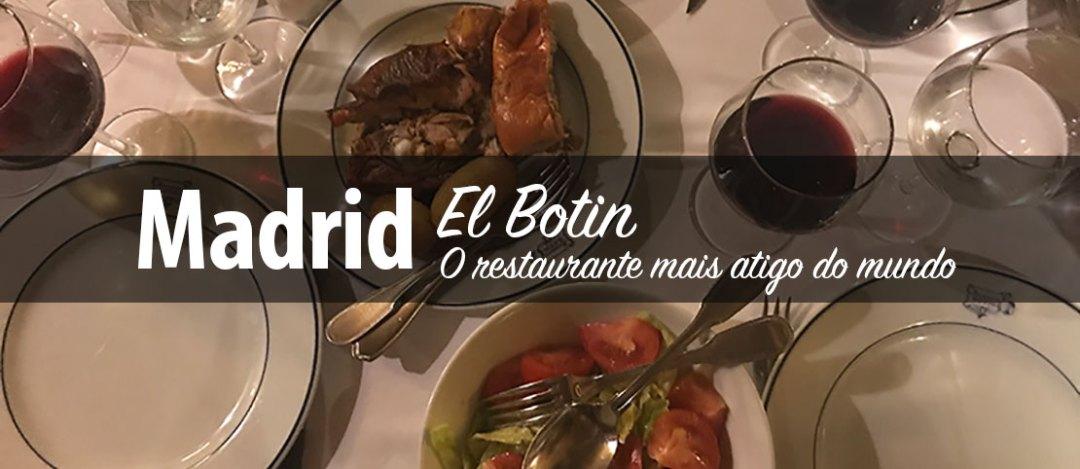 Restaurante El Botin em Madrid