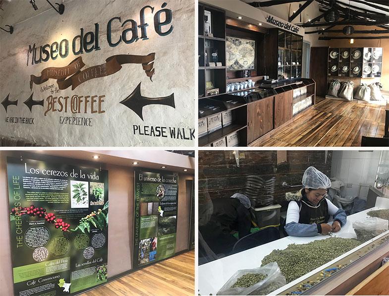 Museus em Cusco: Café