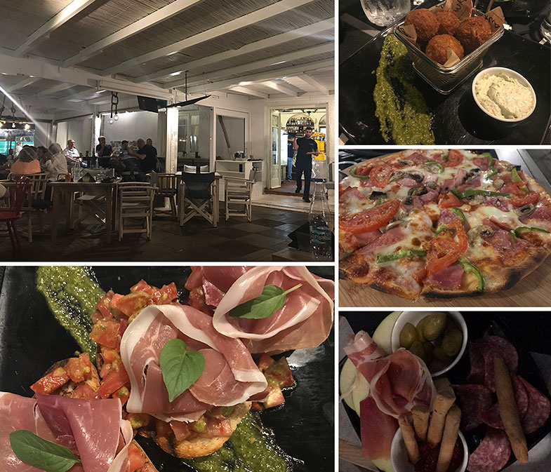 Restaurante em Milos
