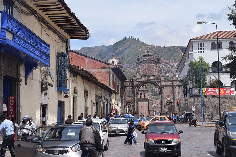 Centro de Cusco no Peru