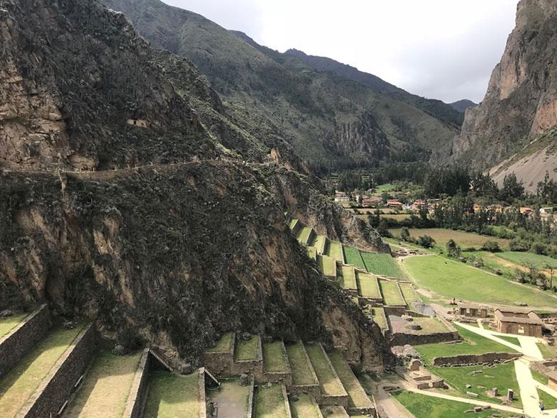 Ollantaytambo no Peru