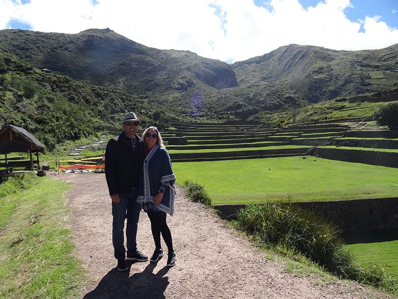 Tipon em Cusco no Peru