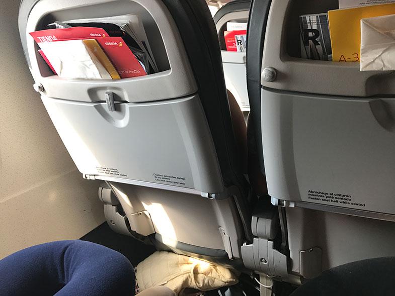Como é voar com a Iberia na Europa