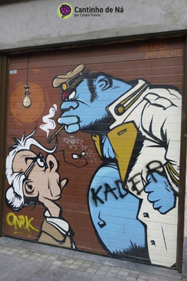 Street Art em Bruxelas