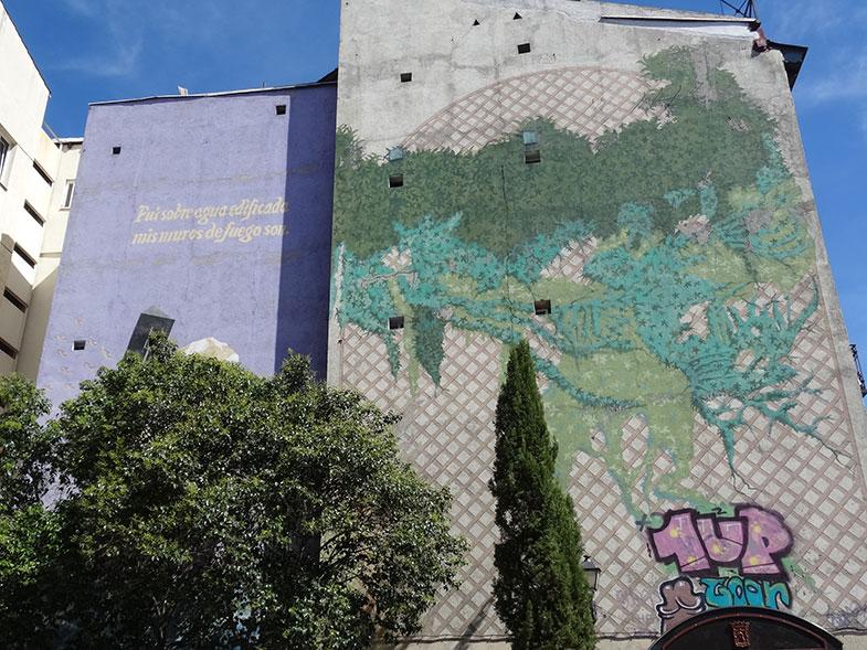 Street Art em Madrid