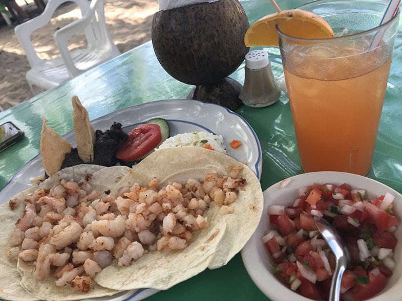 Burritos em Cozumel