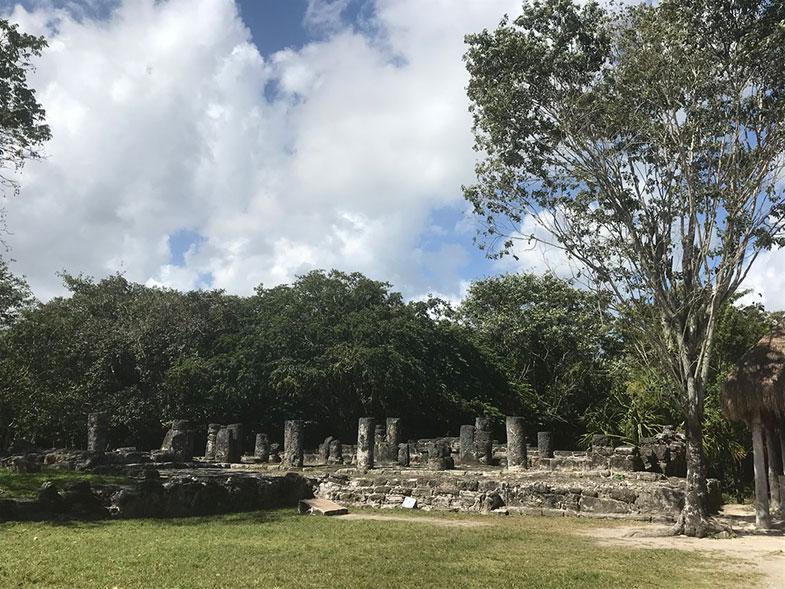 Ruínas de San Gervásio em Cozumel
