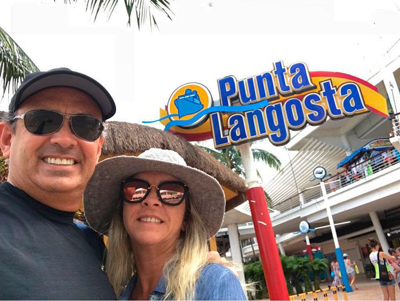 Punta Lagosta em Cozumel