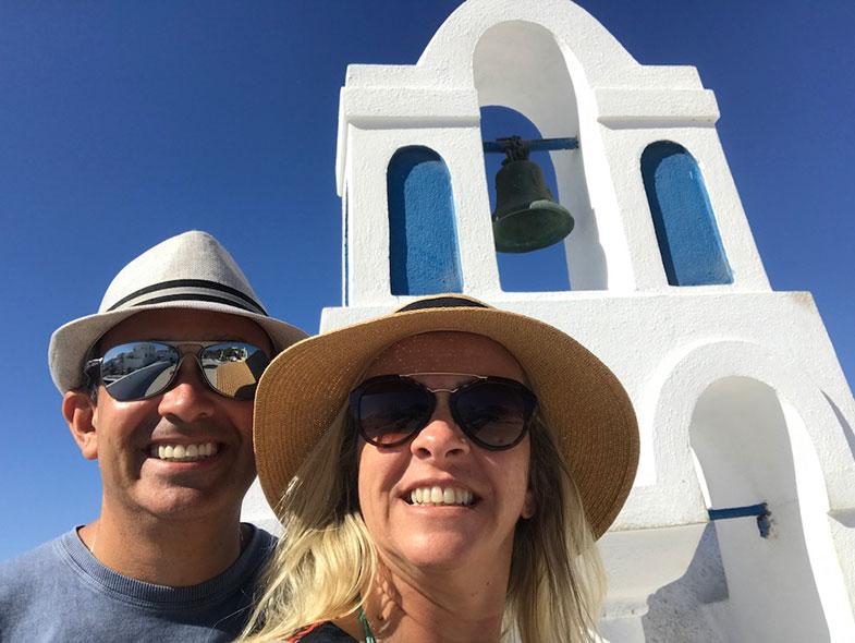 Igrejas em Oia Santorini