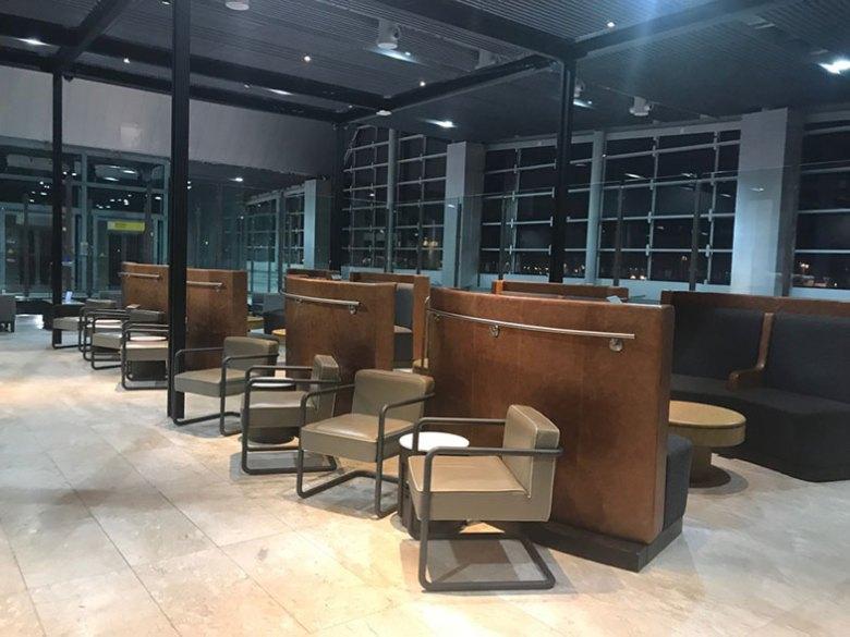 Sala VIP da Latam em Guarulhos