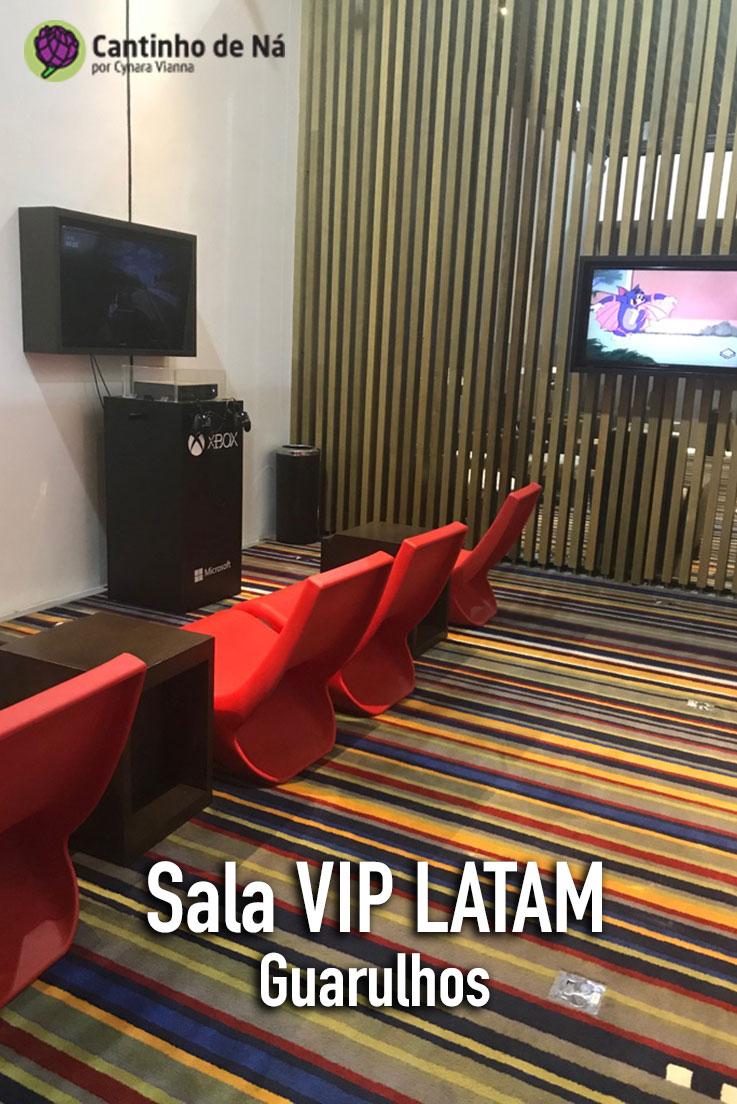 Tudo sobre a sala VIP da Latam