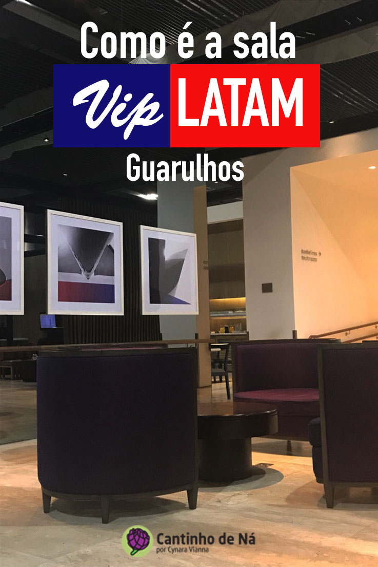 Como é a sala VIP da Latam
