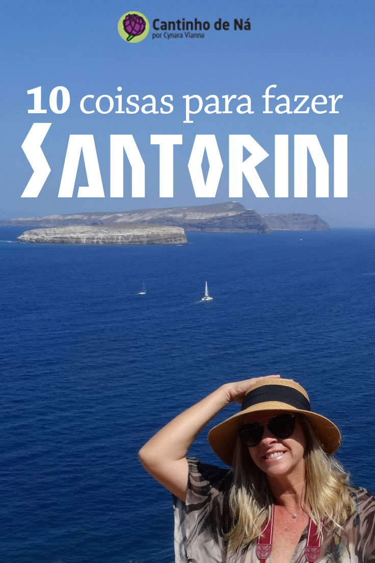 As maravilhas de Santorini