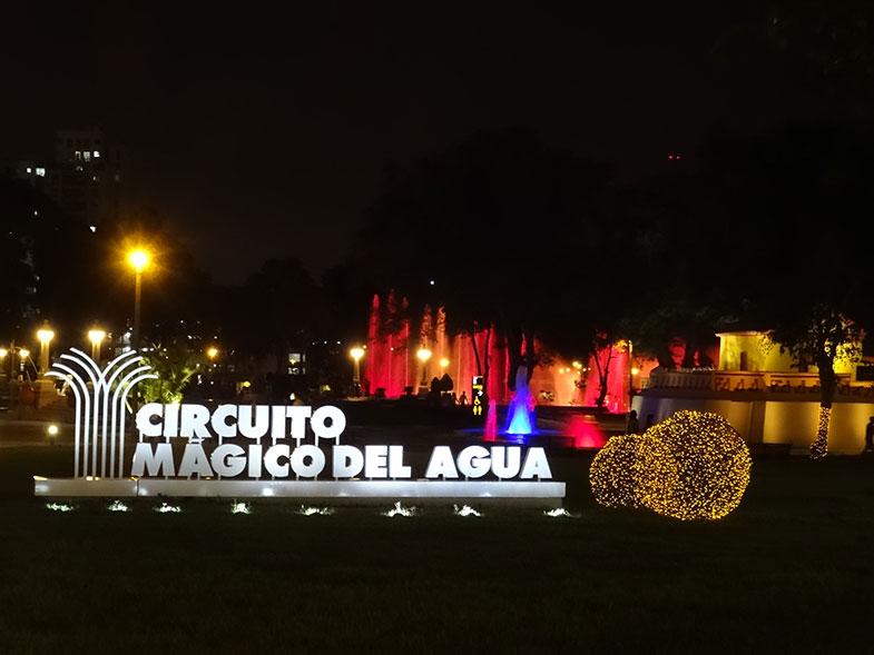 Circuito Mágico das Águas - Conexão em Lima