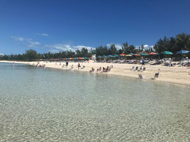Serenity Bay na ilha particular da Disney