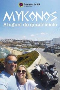 Como é alugar um quadriciclo em Mykonos