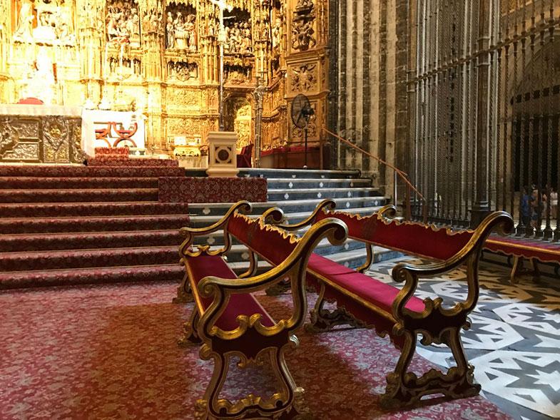 Altar Maior da Catedral de Sevilha
