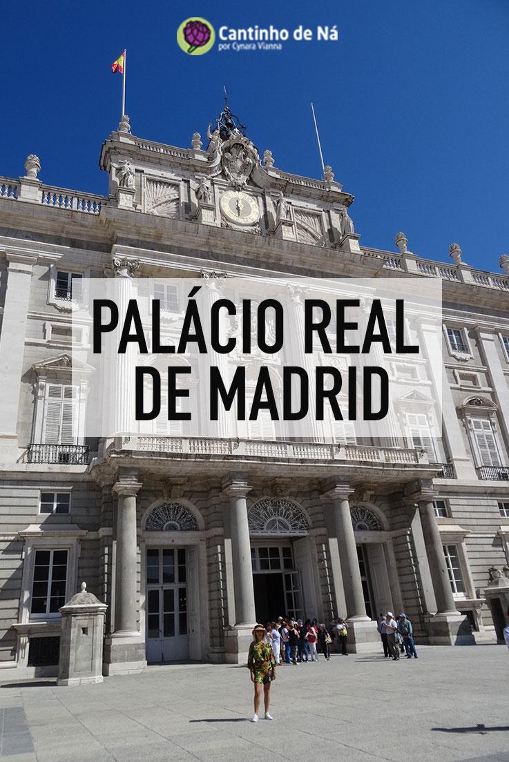 Como é a visita ao Palácio Real de Madrid