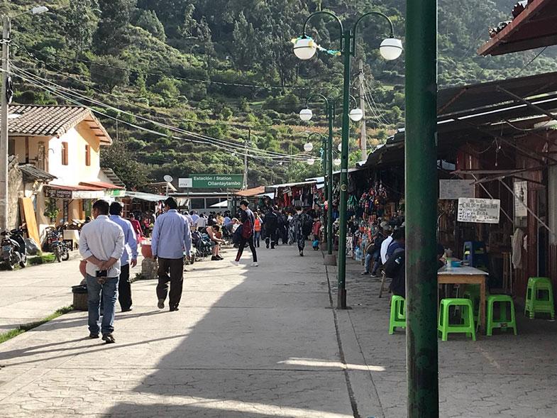Estação de trem de Ollantaytambo