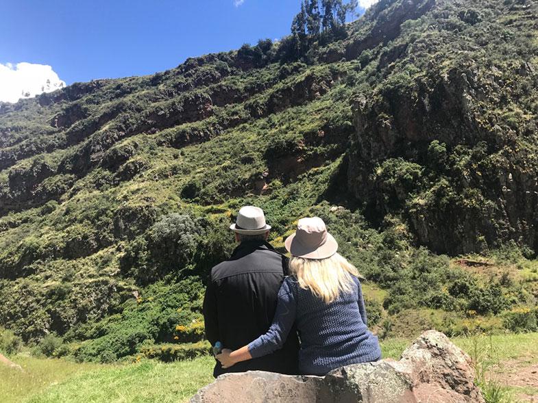 Pisaq no Vale Sagrado no Peru
