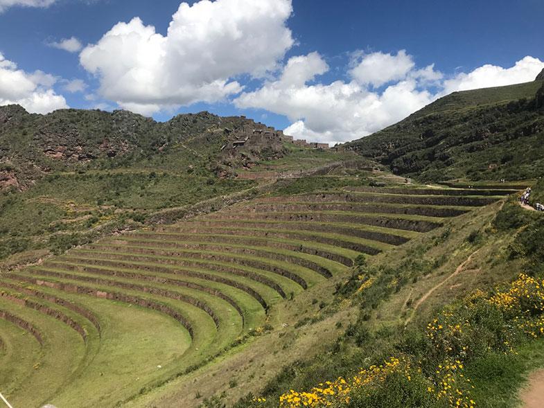 Vista de Pisaq no Vale Sagrado