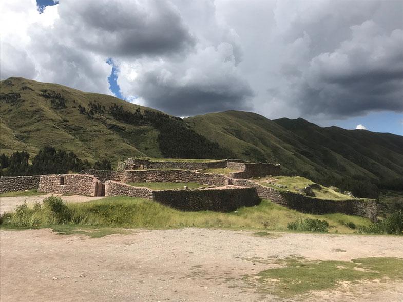 Puca Pucara Vale Sagrado no Peru