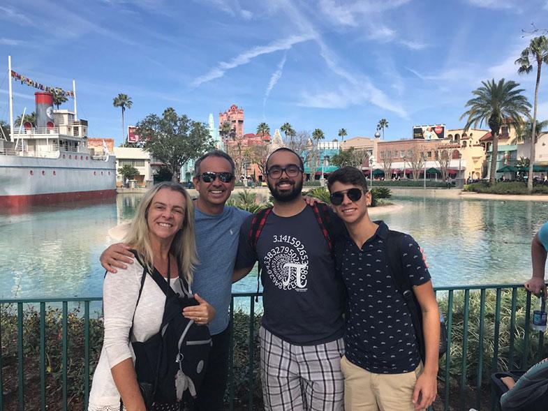 Viagens em família