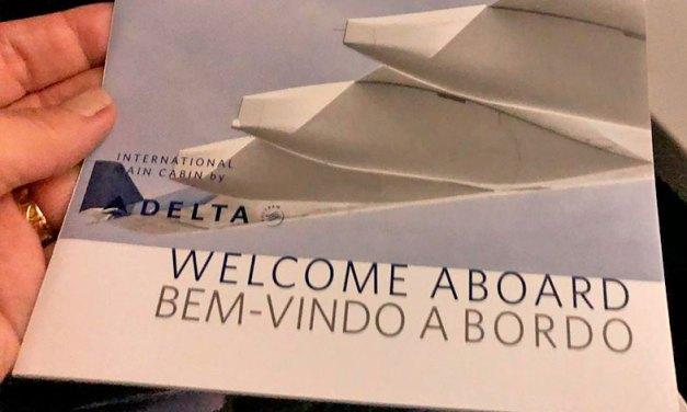 Como é voar com a Delta de/para e nos Estados Unidos