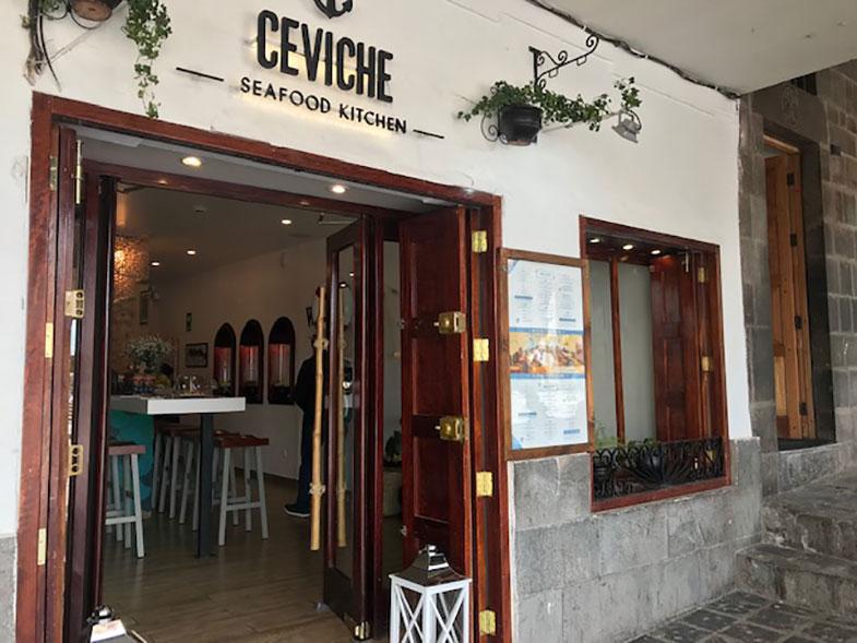 Onde comer em Cusco - Ceviche