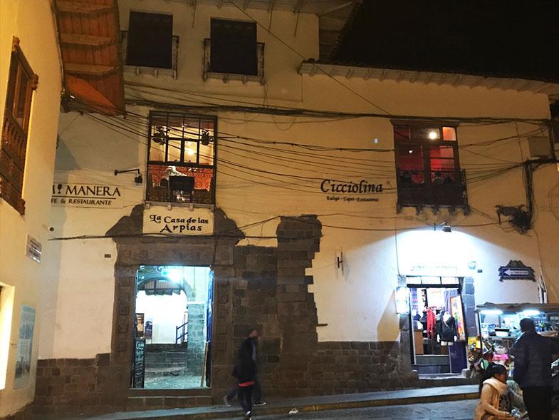 Onde jantar em Cusco - Cicciolina