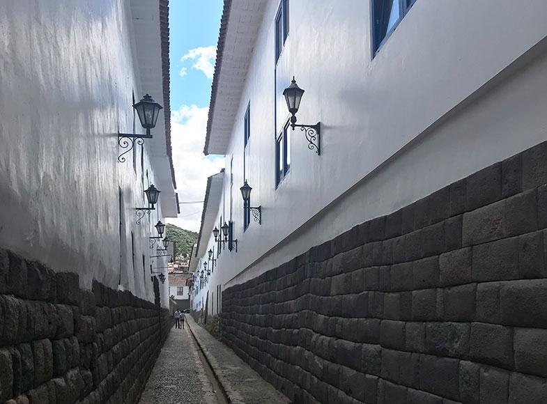 Calle Loreto em Cusco