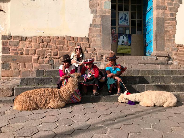 Cholas em Cusco