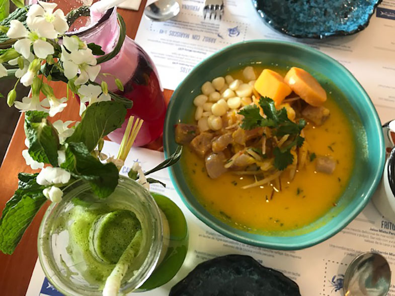 Gastronomia em Cusco