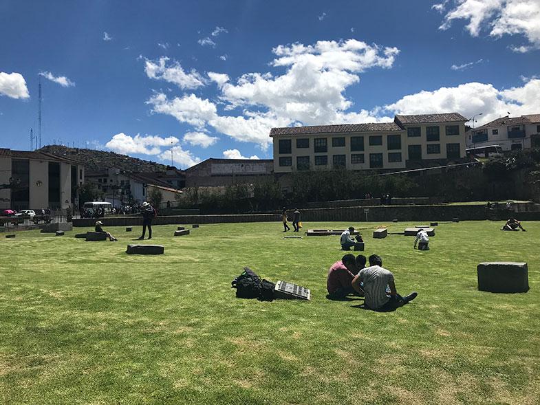 Templo de Qorikancha em Cusco