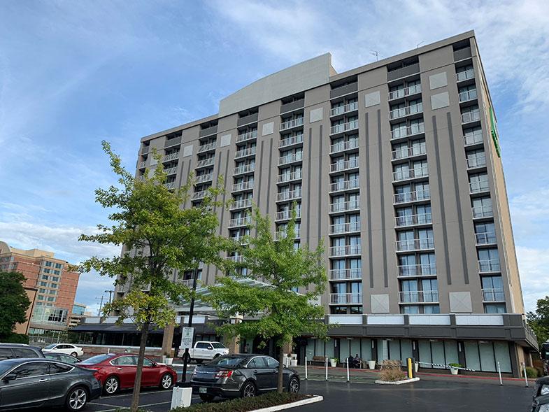 Hotel em Nashville muito bem localizado