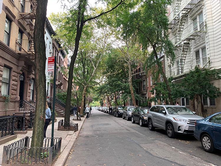 Onde é a casa de Carrie Bradshaw em New York