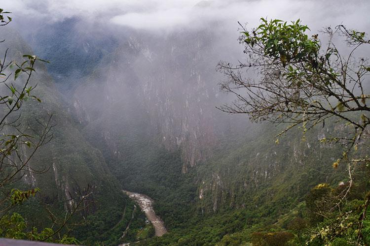 Na estarada para Machu Picchu